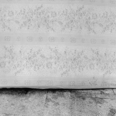 Matratzen 9, 2011 // Silver gelatin print // ca. 25 x 25 cm (30,5 x 40,6 cm)