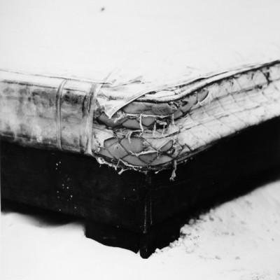 Matratzen 12, 2011 // Silver gelatin print // ca. 25 x 25 cm (30,5 x 40,6 cm)