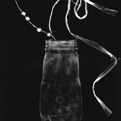 Flasche 4, 2011 / photogram on silver gelatin paper /ca. 24 x 30,5 cm