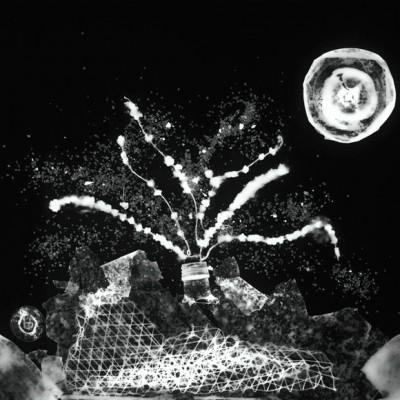 Volcán en erupción, 2011 // photogram on silver gelatin paper // ca. 40,6 x 50,8 cm