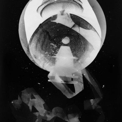 Abisal 5, 2012 / photogram on silver bromide paper / ca. 13 x 18 cm