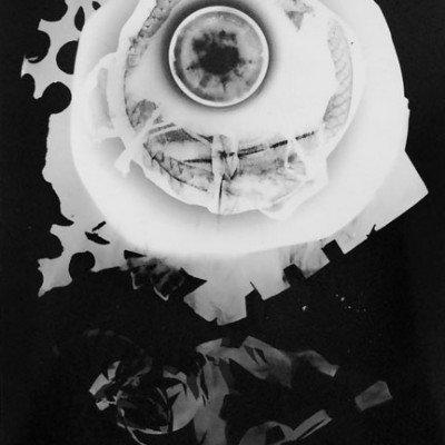 Abisal 6, 2012 / photogram on silver bromide paper / ca. 13 x 18 cm