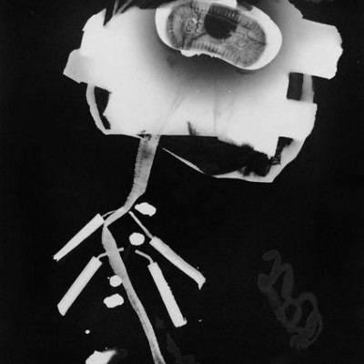 Abisal 8, 2012 / photogram on silver bromide paper / ca. 13 x 18 cm