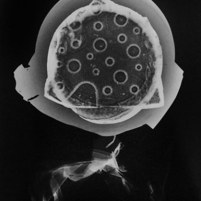 Abisal 13, 2012 / photogram on silver bromide paper / ca. 13 x 18 cm