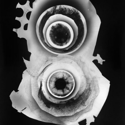 Abisal 15, 2012 / photogram on silver bromide paper / ca. 13 x 18 cm