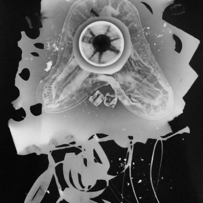 Abisal 27, 2012 / photogram on silver bromide paper / ca. 13 x 18 cm