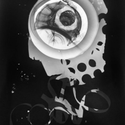 Abisal 39, 2013 / photogram on silver bromide paper / ca. 13 x 18 cm