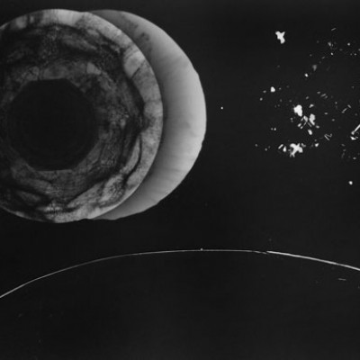 Eclipse, 2013 // photogram on silver gelatin paper // ca. 13 x 18 cm