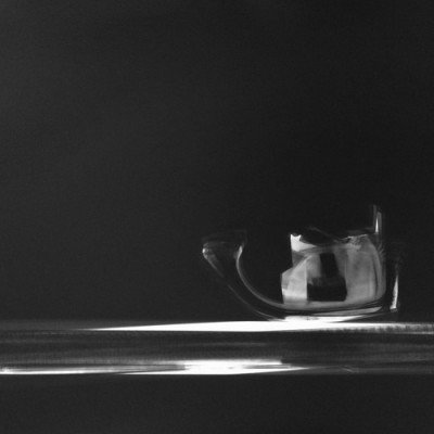 Mar y barca, 2013 / photogram on silver gelatine paper / ca. 30,5 x 40,6 cm