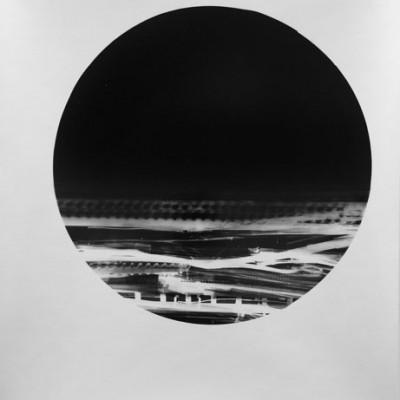 Mar y montaña 2, 2013 / photogram on silver bromide paper / ca. 20,3 x 25,4 cm
