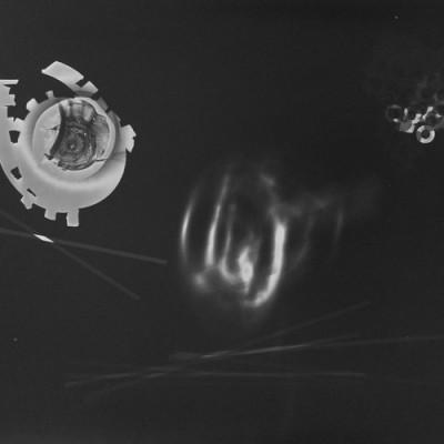 Lichtspiel 003, 2013 / photogram on silver gelatin paper / ca. 30,5 x 40,6 cm