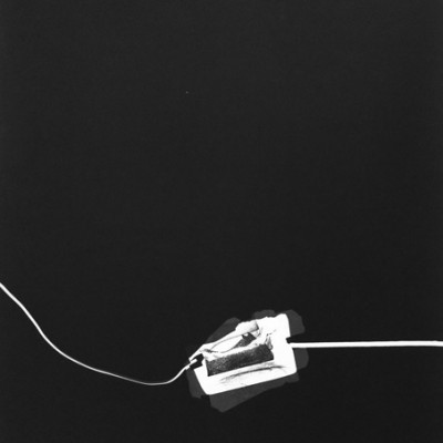 Lichtspiel 004, 2013 / photogram on silver gelatin paper / ca. 30,5 x 40,6 cm