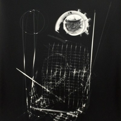 Lichtspiel 005, 2013 / photogram on silver gelatin paper / ca. 30,5 x 40,6 cm