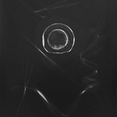 Lichtspiel 006, 2013 / photogram on silver gelatin paper / ca. 30,5 x 40,6 cm