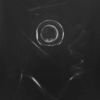 Lichtspiel 006, 2013 / photogram on silver gelatin paper / ca. 30,5 x 40,6 cm