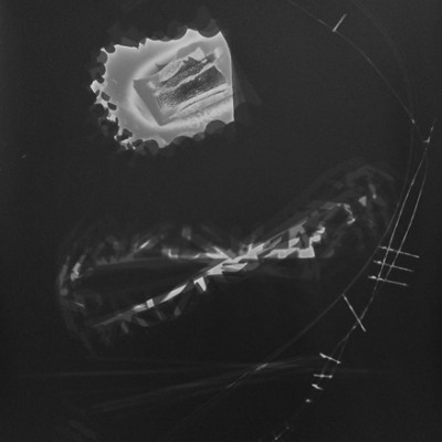 Lichtspiel 007, 2012 / photogram on silver gelatin paper / ca. 30,5 x 40,6 cm